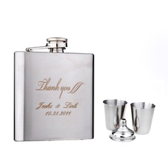 Personalized 4 pieces Stainless Steel 160ml(6-oz)