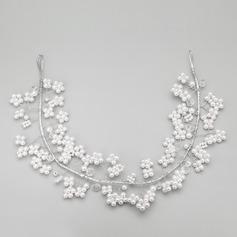 Beautiful/Handmade Alloy/Imitation Pearls Headbands