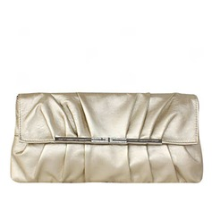 Elegant Faux Leather/Metal/PU Clutches