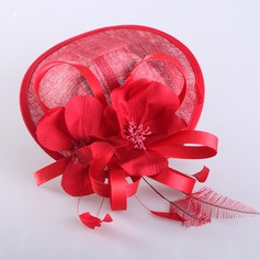 Ladies' Special Summer Cambric With Feather Fascinators