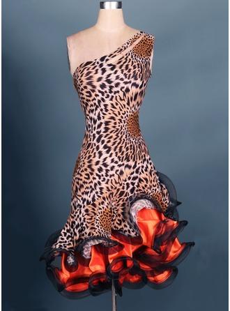 De mujer Ropa de danza Del spandex Danza Latina Leotardos