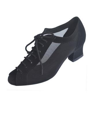 Femmes Nubuck Talons Escarpins Latin Modern Style Chaussures de danse