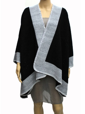 Color Block Infini/Châles Poncho
