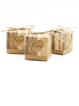 """""""Amour"""" Cubique Boîtes cadeaux"""