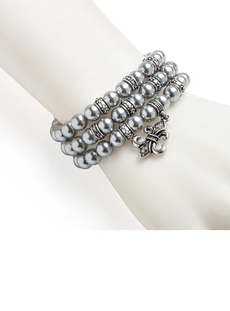 Fashional Alloy With Imitation Pearls Women's/Ladies' Bracelets