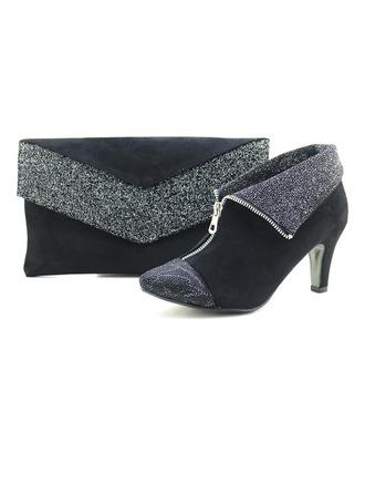 Elegant Autumn/Winter Velvet Shoes & Matching Bags