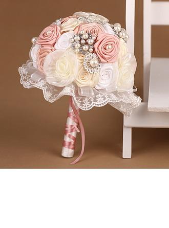 Élégante Rond Satiné/Tulle Bouquets de mariée