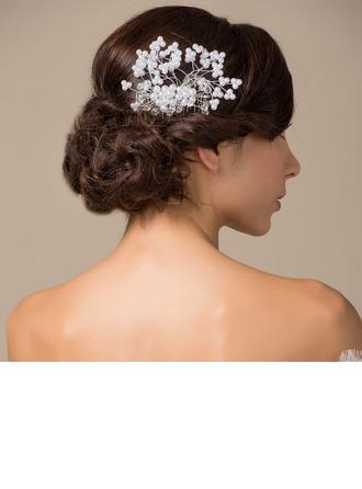 Élégante/Fait main Alliage/Perles d'imitation Des peignes et barrettes