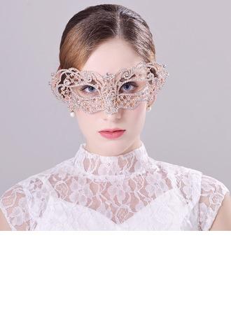 """Glamourous/Eye-catching Alloy/""""A"""" Level Rhinestone Masks"""