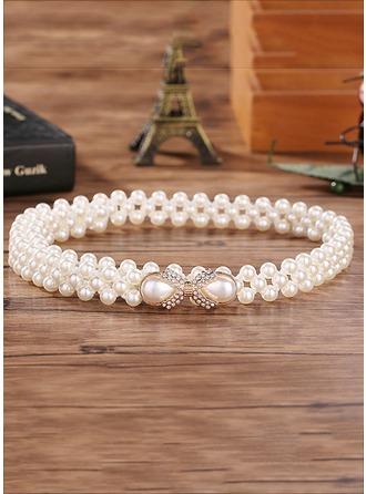 Maravilloso La perla de faux Cinturón