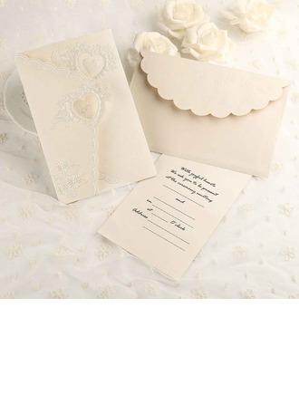 Estilo clásico Tri-Fold Tarjetas de invitación