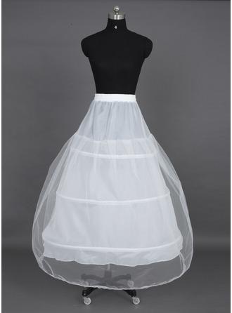 Femmes Nylon/Tissu tulle Tea- longueur 1 couche Jupons