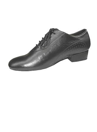 Hommes Vrai cuir Chaussures plates Salle de bal Pratique Chaussures de danse