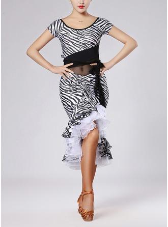 Women's Dancewear Nylon Latin Dance Outfits