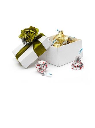 Florale Conception Cuboïd Boîtes cadeaux avec Fleurs