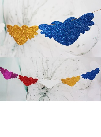 Angel Design Sponge Photo Booth Props/Banner