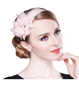 Dames Beau Feather Chapeaux de type fascinator