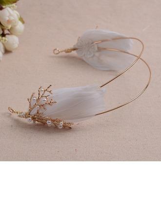 Beau Alliage/Feather Tiaras