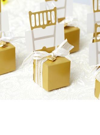 Design de chaise Boîtes cadeaux avec Rubans/Cœur accessoire