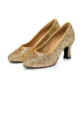 Femmes Pailletes scintillantes Talons Escarpins Modern Style Chaussures de danse