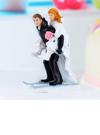 Sports Couple Cake Topper