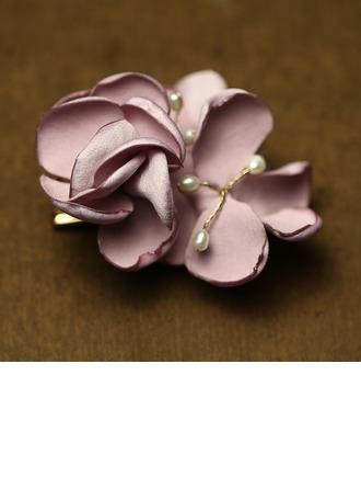 Simple Tissu Fleurs et plumes