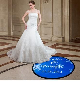 personnalisé Flocon de neige PVC Stickers de danse floor