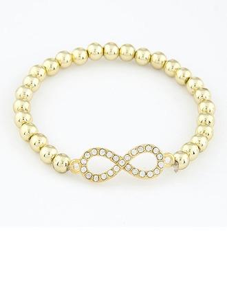 élégant Plastique avec Perle d'imitation Dames Bracelets et chaînes de cheville