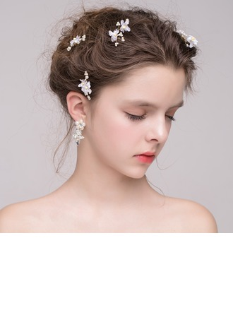 Special Alloy/Imitation Pearls/Silk Flower/Plastic Hairpins