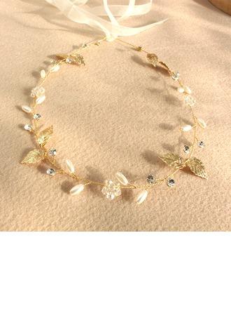 Filles Jolie Cristal/De faux pearl Tiaras
