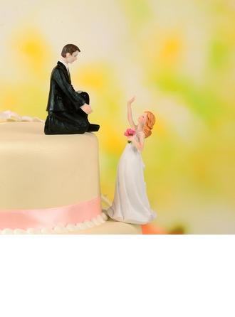 Couple classique Résine Mariage Décoration pour gâteaux