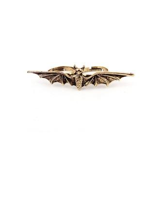 Bat Shaped Alloy Ladies' Rings