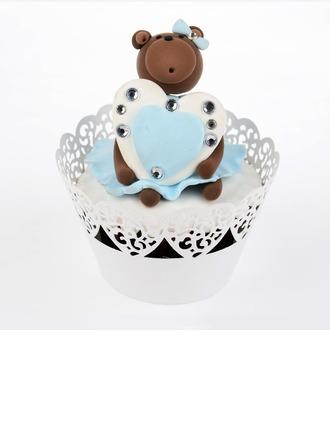 Cru Emballage de petit gâteau