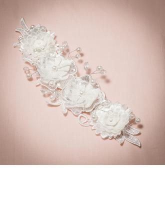 Exceptionnel Strass/Perles d'imitation/Soie artificielle Fleurs et plumes/Bandeaux