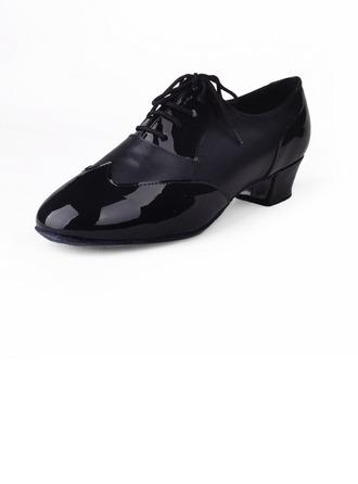 Hommes Vrai cuir Talons Latin Salle de bal Chaussures de danse