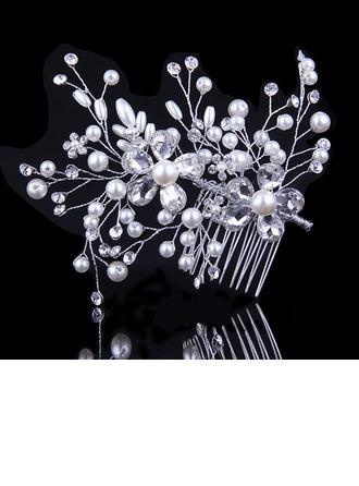 Beautiful Crystal/Imitation Pearls Combs & Barrettes