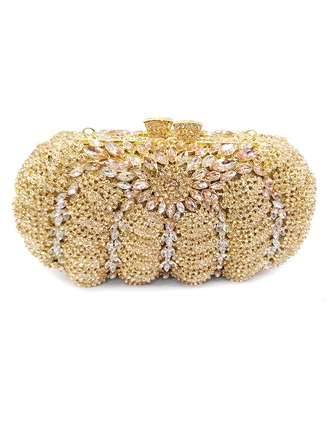 Delicate Crystal/ Rhinestone/Alloy Clutches/Luxury Clutches