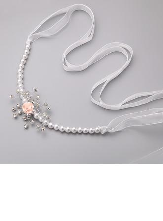 Belle Strass/Mousseline/Pâte polymère avec Perles d'imitation Dames Bijoux de corps