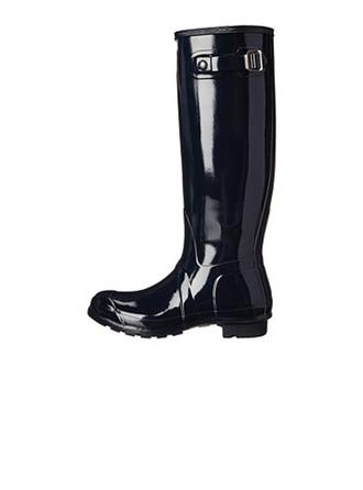 Femmes Caoutchouc Talon bas Bottes hautes Bottes de pluie chaussures