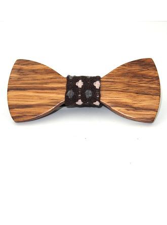 Style Vintage Bois Bow Tie
