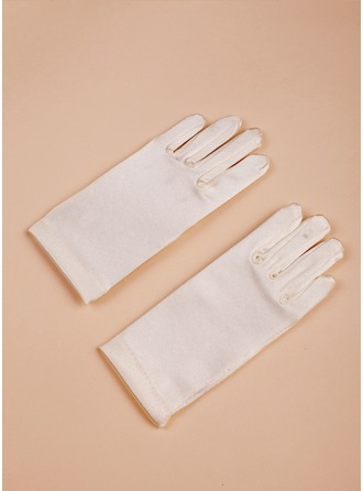 Satin Wrist Length Glove