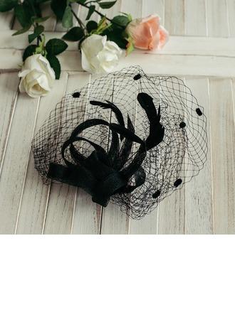 Dames Style Classique/Romantique avec Tulle Chapeaux de type fascinator