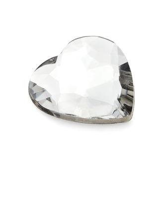 Conception de coeur Acrylique Pièces de diamant