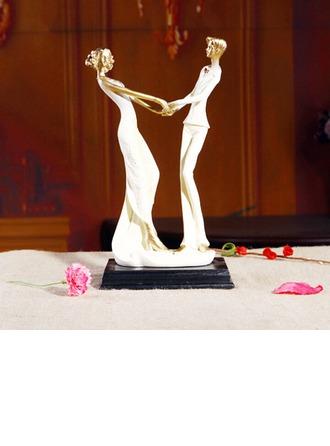 Couple classique Céramique Mariage Décoration pour gâteaux