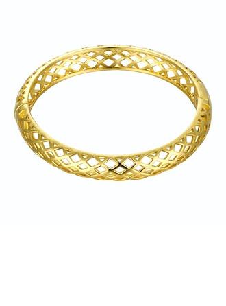 Exquisite Gold Plated Brass Unisex Fashion Bracelets