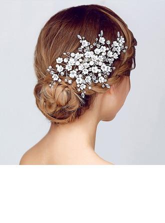 Magnificent Rhinestone/Alloy/Imitation Pearls Combs & Barrettes