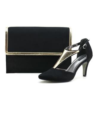 Fashional Autumn/Winter Velvet Shoes & Matching Bags