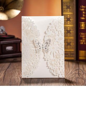 Estilo Mariposa Puerta-Doble Invitation Cards (Juego de 50)