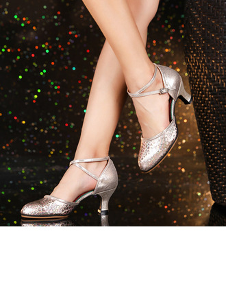 Femmes Similicuir Talons Latin Modern Style Chaussures de danse