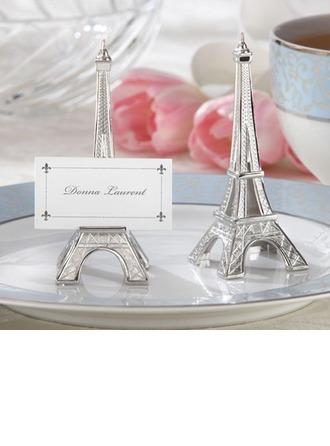 Torre Eiffel Diseño Resina Los Titulares de Tarjeta del Lugar (Juego de 6)